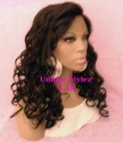 Synthetic lace front wig 1