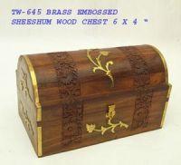 SHEESHUM WOOD BOXES / COASTERS