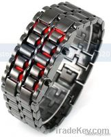 Stainless Steel LED Digital Watch