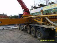 Junjin concrete pump on Benz