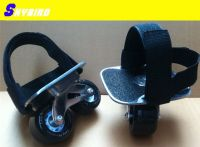 X-drift skates freeline skates/the hole on board can use tie to the feet, speed roller skates