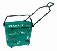 rolling shopping basket