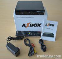 azbox bravissimo satellite decoder Nagra3 Twin tuner iks/sks HD wifi a