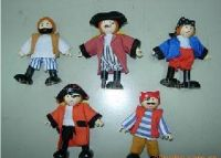 wooden doll puppet