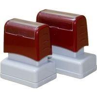 Pre Ink Rubber Flash Stamp