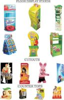 Corrugated Displays & Stands
