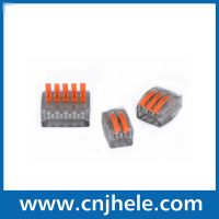 CMK Series push-in connectors 2 3 5 Pin Lamp Light Wire Plug Terminals Cheap Automotive Wago Cable Cage Plastic Power Electrical Connector