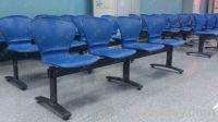 Lobby Waiting Chair Public Cheap Reception Chair with Steel Beam Heavy