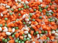 canned peas and carrots