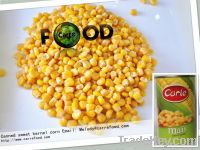 Green Giant canned whole kernel sweet corn from China