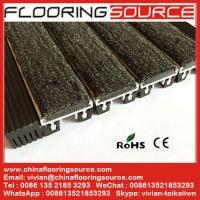 Aluminum Floor Matting Heavy Duty Entrance for high heavy traffic Roll-up Matting