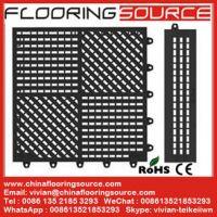 PVC Interlocking Tile Mat Locker Room Mat Bathroom Mat Pool Mat