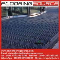 Interlocking Plastic Heavy duty brush entrance mat
