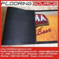 Nitrile Rubber Backing Bar Mat for Beer and Drink Promotion Logo Custom Rubber Bar Mat, custom pvc bar mat, beer mat