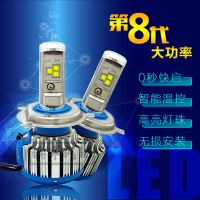 T1 CREE chip led headlamp  car tuning H1 H3 H7 H4 9005 9006 LED luces faros