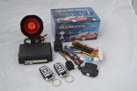 universal Car alarm system  single  one way vehicle burglar  remote control