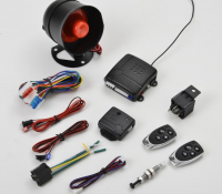 universal Car alarm system  South American special  one way vehicle burglar  remote control