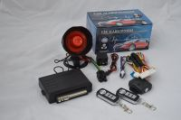 universal Car alarm system  single  one way vehicle burglar  remote control