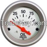Utrema Electrical Oil Pressure Gauge 2-1/16 in.