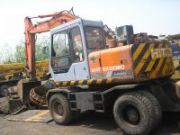 used wheel excavator Hitachi 100