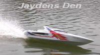 2 Stroke Massive R/C Boat