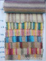 summer straw woven fabric, llist shoe materials, shoes making material ,