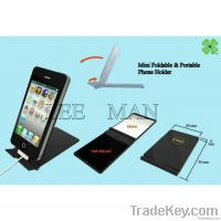Mini foldable & portable phone holder (new design)