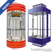 glass/sightseeing/panoramic elevator