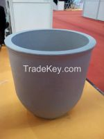 SIC high purity graphite crucible for melting aluminum