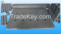 graphite spare for  application of processing by industrial furnace under high temperature