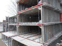 4000 sqm Scaffolding Layher Speedyscaf used