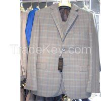 MENS STRIPES SUIT TWO BUTTON SLIM FIT DRESS WEDDING SUIT WHOLESALE DROPSHIPPING #K05