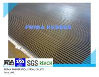 fine ribbed rubber mat, fine rib rubber mat