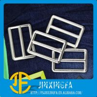 Fashion Slider Plated Black Metal Belt Buckle / Alloy Buckle / Belt Fastener