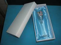 Bride & Groom Toasting Glass