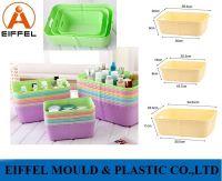 Plastic Storage Crate Box Basket