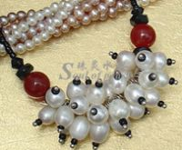 freshwater pearl necklace for party
