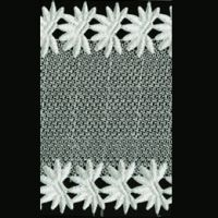 Polyster Water Soluable Lace