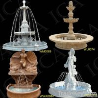 Marble Fountain, Fountain Sculpture, Garden Marble Fountain