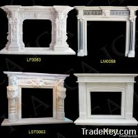 Marble fireplace, Carved Fireplace, stone fireplace, fireplace mantel