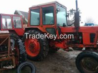 Used farm tractors MTZ-Belarus from 80 to 110 hp.