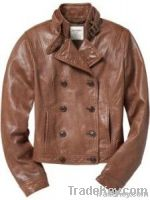 leather fashion jacket for womens