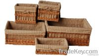 Sell Household Storage Willow Wicker Basket