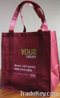 Promotion non woven shopper bag