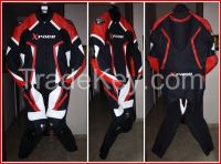custom leather motorcycle racing suits