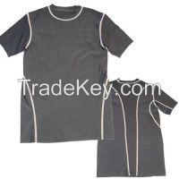 Mens compression half sleeve shirts/tops