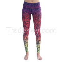 Youth sublimated yoga pants