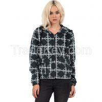 Javjun embroidered fleece pullover hoodie