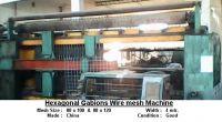 Hexagonal Gabion Wire Mesh Machine