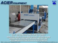 cut to length machine for coil cutting line
